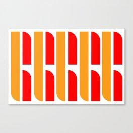 Bauhaus Font art: Joschmi & Xants Canvas Print