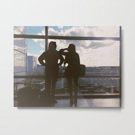 Airport Metal Print