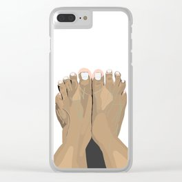 FEET III Clear iPhone Case