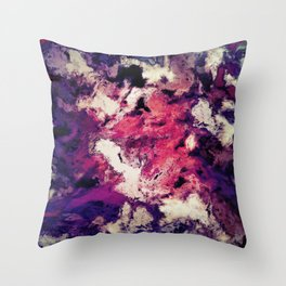 Ground clearance Throw Pillow