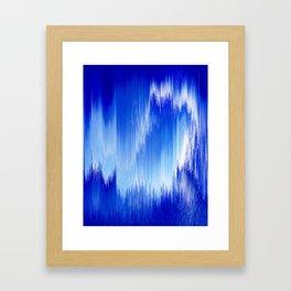 FibreOps-Ice Framed Art Print