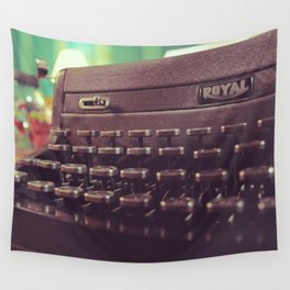 Type the Pages to Your Dream. Wall Tapestry