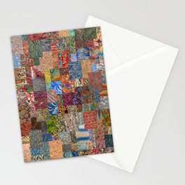 Turkish Marbled Paper Art (Ebru) Stationery Cards