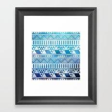 Tribal Vision. Framed Art Print