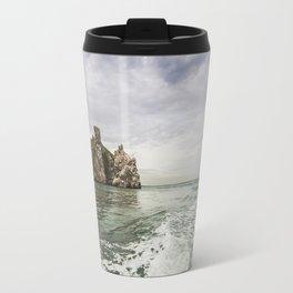 Irish cliffs in Howth Travel Mug
