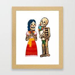 El amor verdadero Framed Art Print