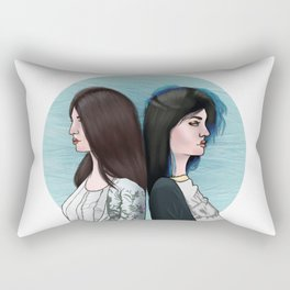 KENDALL AND KYLIE Rectangular Pillow