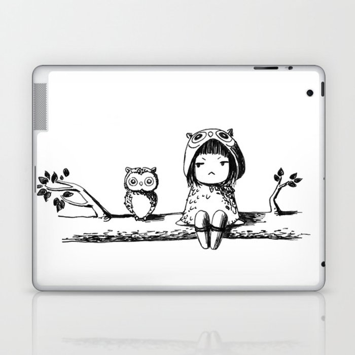 Owls Laptop & iPad Skin