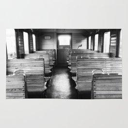 Old train compartment - Altes Zugabteil Rug