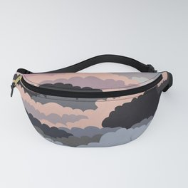 Magic Sunset Clouds On The Sky Fanny Pack