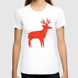 Origami Deer T-shirt