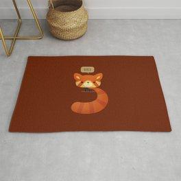 Little Furry Friends - Red Panda Rug