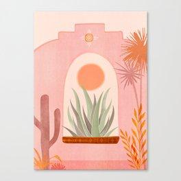 El Sol / Desert Landscape Canvas Print