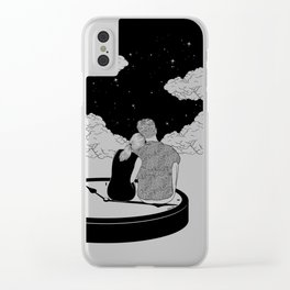 Time stands still Clear iPhone Case