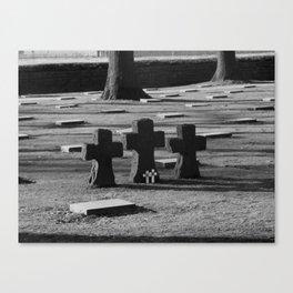 Belgian Memorial Canvas Print
