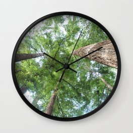 In the Land of Giants Wall Clock