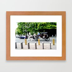 Fleet of Foot Framed Art Print