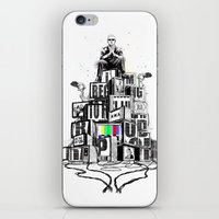 rap iPhone & iPod Skins featuring Rap God by Reducto