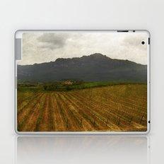 Rioja vineyards, spain, late spring Laptop & iPad Skin