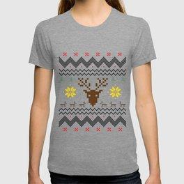 Christmas Festival Santa Gift for Winter Holidays Light T-shirt