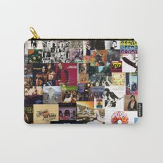 Classic Rock And Roll Albums Collage Carry-All Pouch