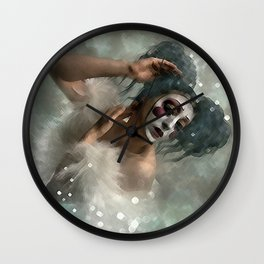 DANCE IS SILENT POETRY Wall Clock