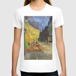 CAFE TERRACE AT NIGHT - VINCENT VAN GOGH T-shirt