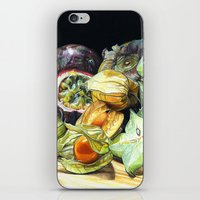 fruit iPhone & iPod Skins featuring FRUIT by Anne Hviid Nicolaisen