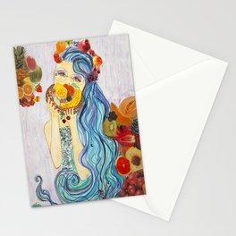 underwater market Stationery Cards