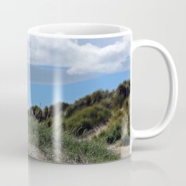 Among the dunes at Bamburgh Coffee Mug