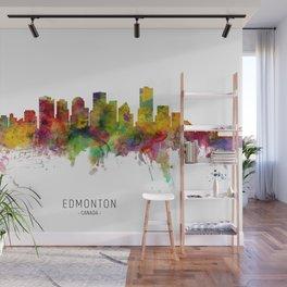 Edmonton Canada Skyline Wall Mural