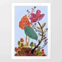 the herborist Art Print