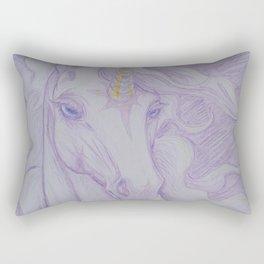 Unicorn Oracle 1: Lavender Rectangular Pillow