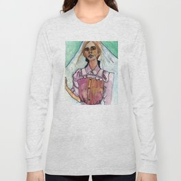 Girl in the Grass IV Long Sleeve T-shirt