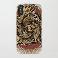 warcraft iPhone & iPod Cases featuring Storm of Swords by Plan 9 Design