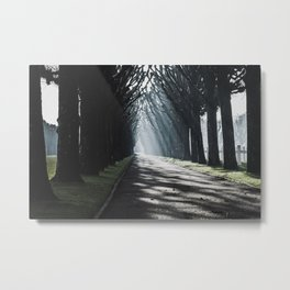 The Way to the Chapel Metal Print