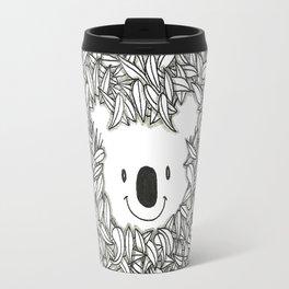 Koala and eucalyptus Travel Mug