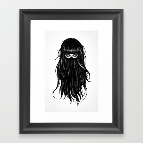 It Girl Framed Art Print