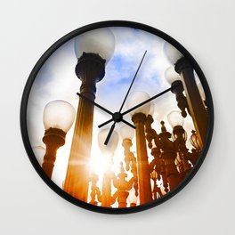 Urban Lights Wall Clock