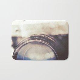 Vintage Zenit-B Camera Diptych Bath Mat