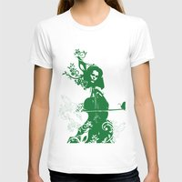 cello T-shirts featuring Cello and flowers by Design4u Studio