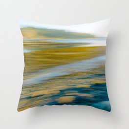 Stanley Park - Abstract Throw Pillow