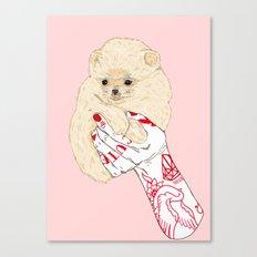 Cute Pups Canvas Print