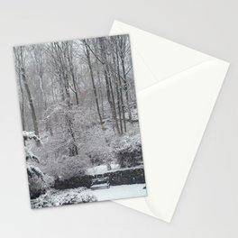 Maplewood - South Mountain Reservation - Snow Stationery Cards
