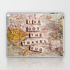 I've got the travel bug Laptop & iPad Skin