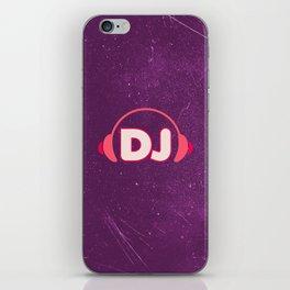 DJ Headphones Rave Quote iPhone Skin