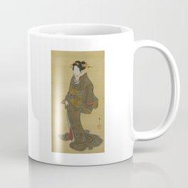 Japanese Geisha from Edo (Tokyo) Coffee Mug