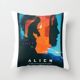 ALIEN 1 Throw Pillow