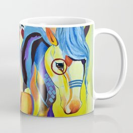 Native American Horse Coffee Mug
