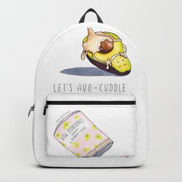 Avocado in a Sweet Avocuddle Backpack
